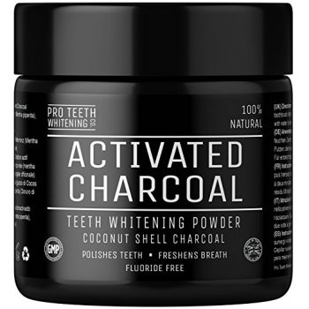 Activated Charcoal Natural Teeth Whitening Powder Deal