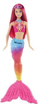 Barbie Mermaid Doll, Rainbow Fashion Deal