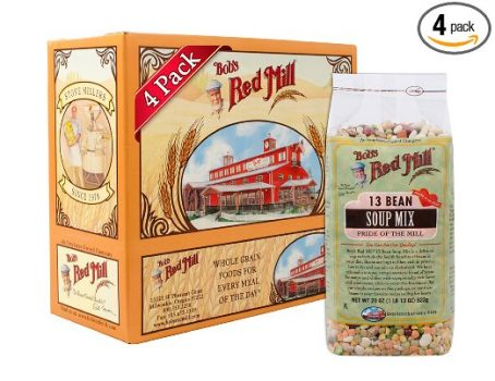 Bob's Red Mill 13 Bean Soup Mix, 29-ounce (Pack of 4) Deal