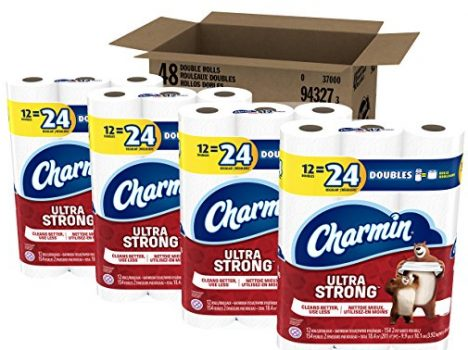 Charmin Ultra Strong Toilet Paper, Bath Tissue, Double Roll, 48 Count Deal
