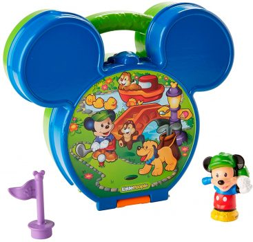 Fisher-Price Little People Magic of Disney Mickey's Fold 'N Go Playset Deal