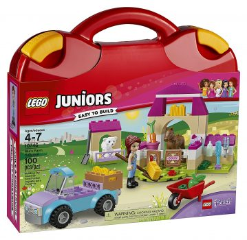 LEGO Juniors Mia's Farm Suitcase 10746 Toy for 4-Year-Olds Deal