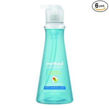 Method Naturally Derived Dish Soap Pump, Sea Minerals, 18 Ounce (Pack of 6) Deal