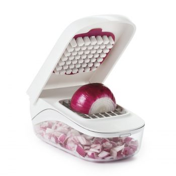 OXO Good Grips Vegetable and Onion Chopper with Easy Pour Opening Deal