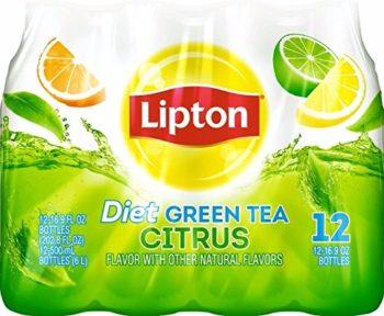 diet lipton green tea citrus 12