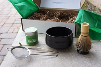 jade leaf matcha gift set