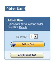 add-on items