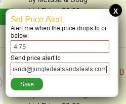 Jungle Deals & Steals Search Alert