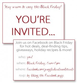 Black Friday Invite